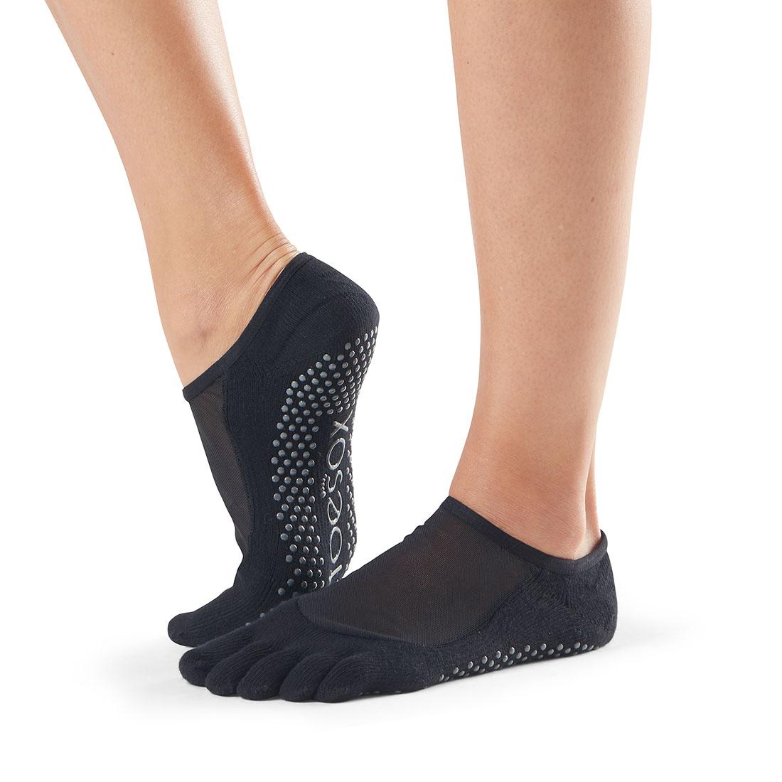 Yogasocken ToeSox Luna Full Toe Black