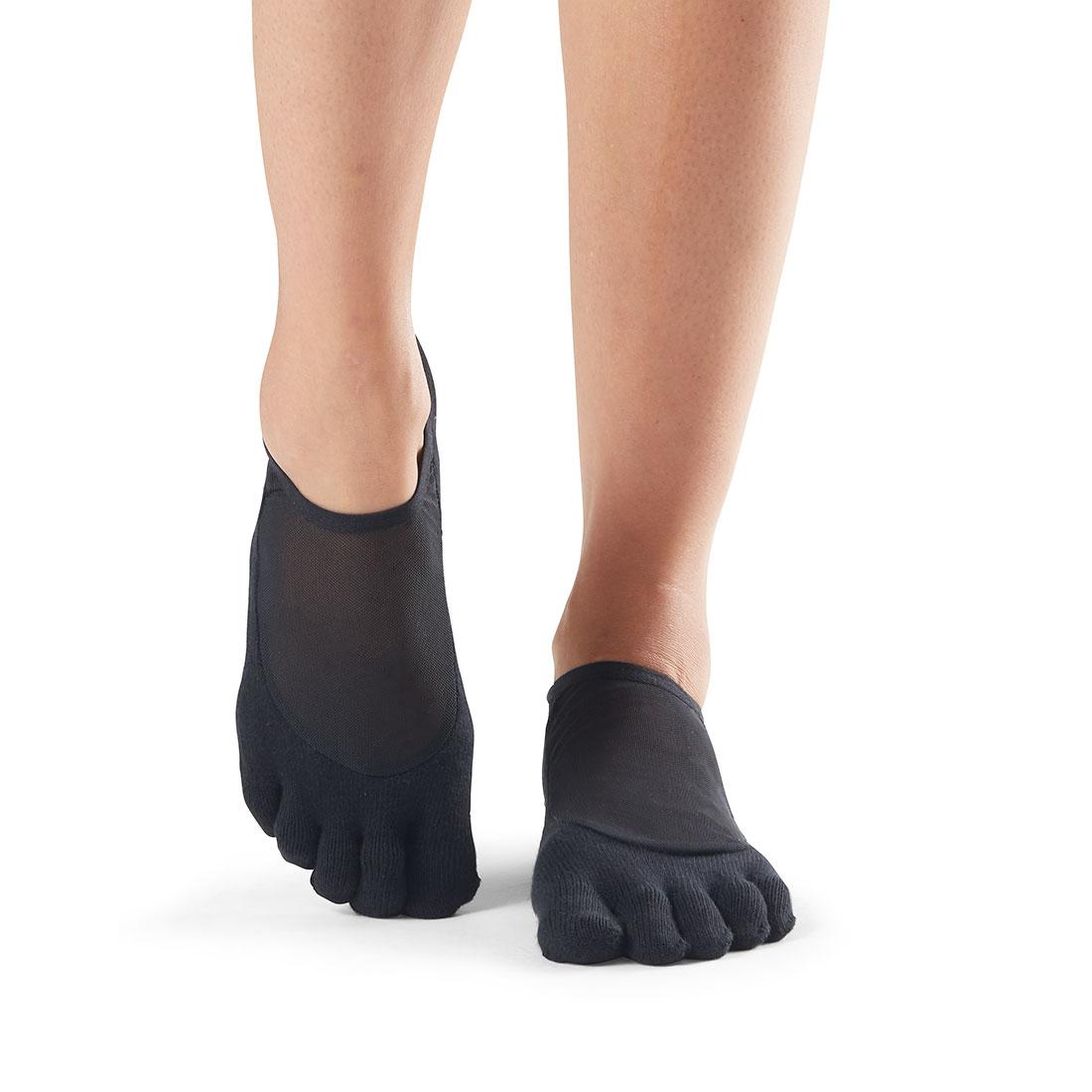 Yogasocken ToeSox Luna Full Toe Black - 1