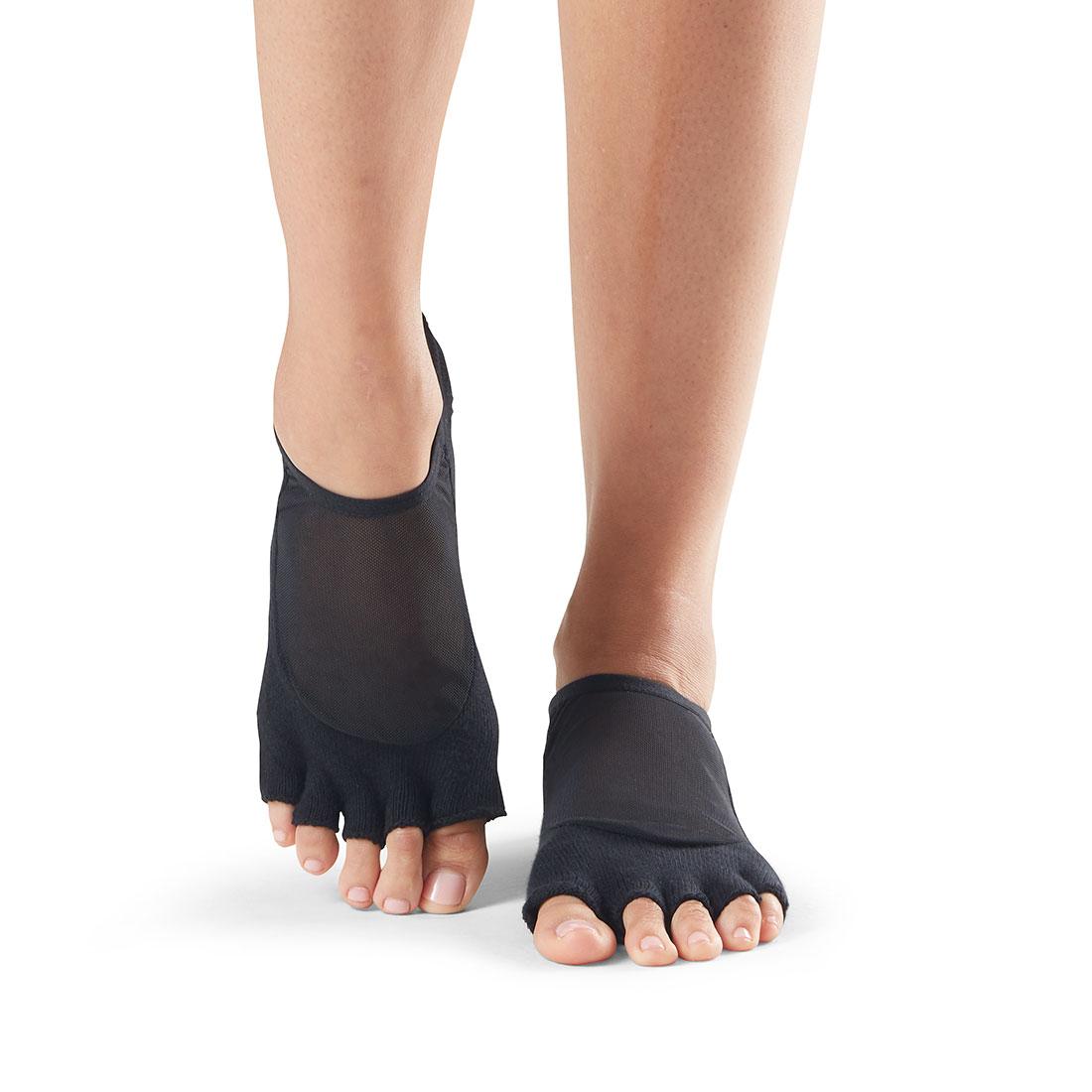 Yogasocken ToeSox Luna Half Toe Black - 1
