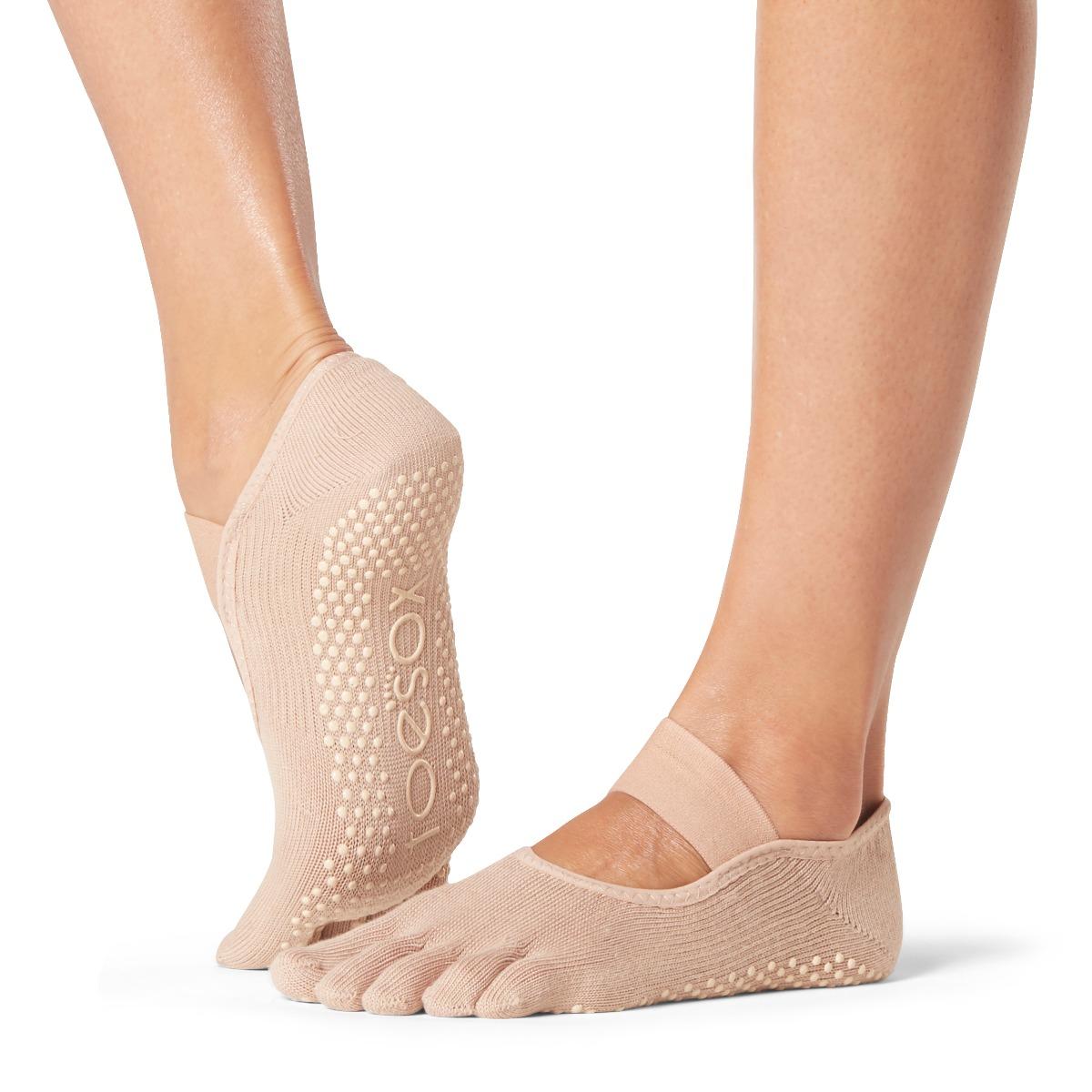 Yogasocken ToeSox Mia Full Toe Nude
