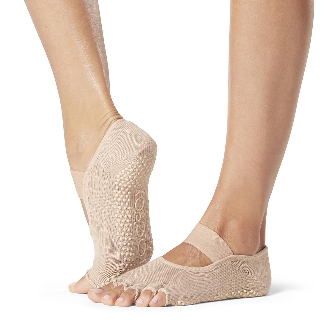 Yogasocken ToeSox Mia Half Toe Nude