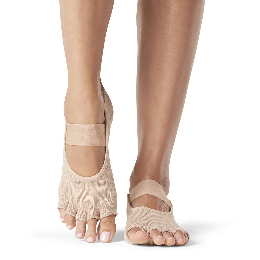 Yogasocken ToeSox Mia Half Toe Nude - 1