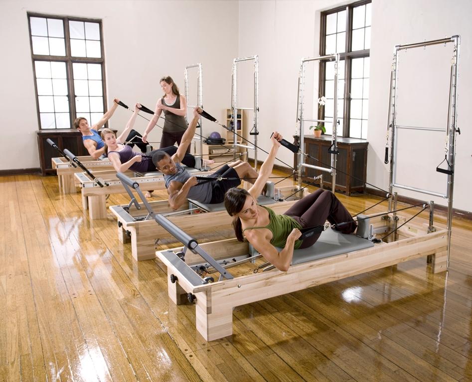 Pilates Studio Reformer Half Trapeze Combination - 2