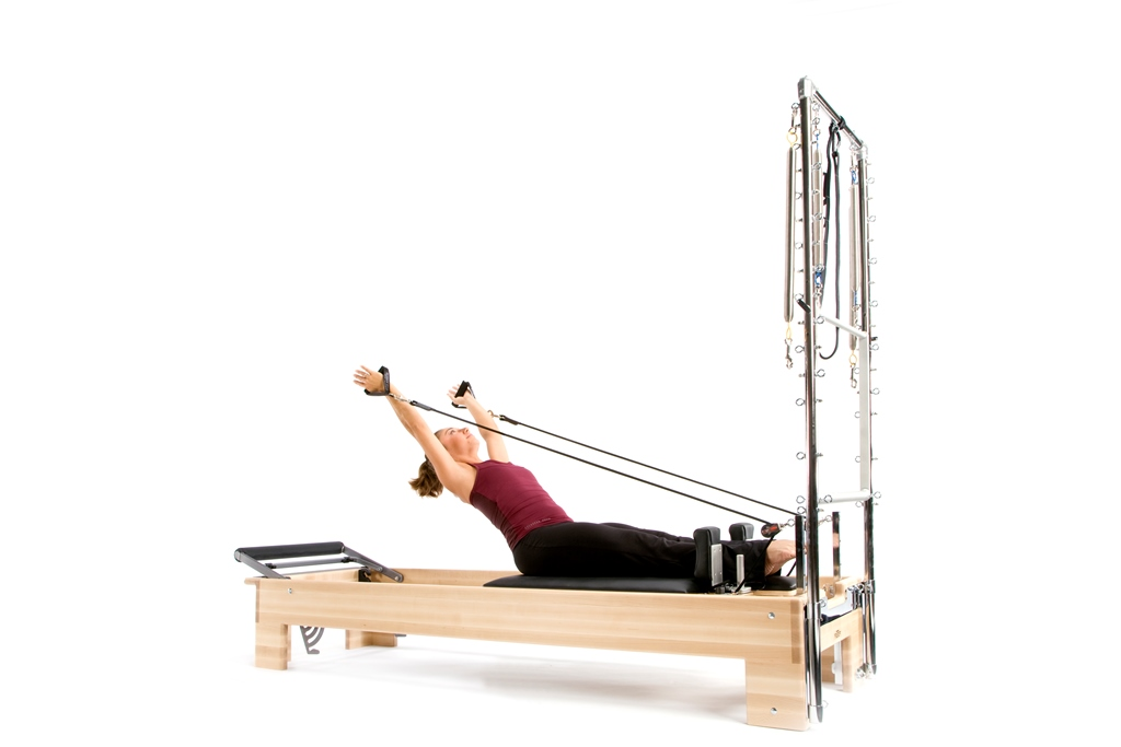 Pilates Studio Reformer Half Trapeze Combination - 3