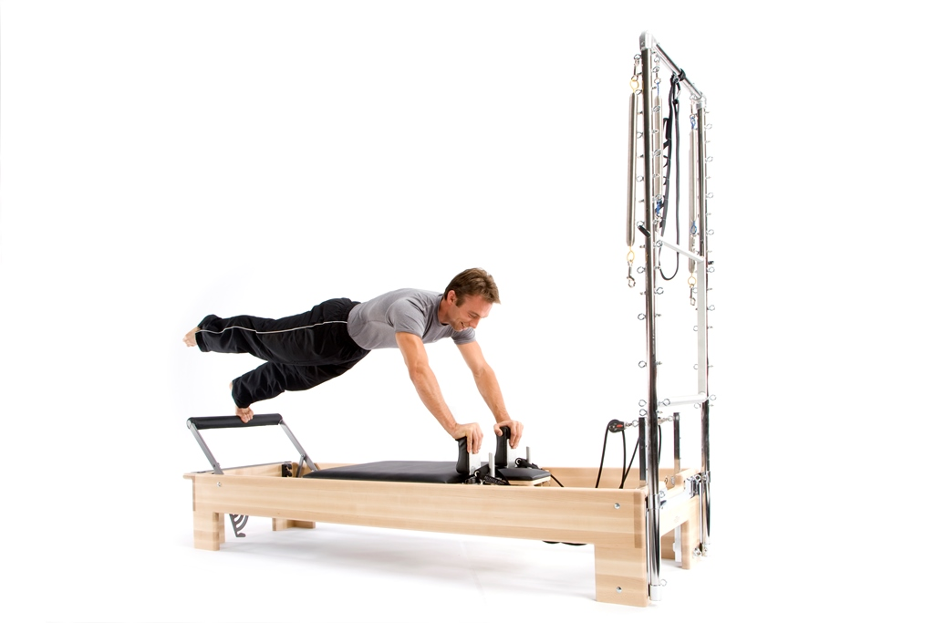 Pilates Studio Reformer Half Trapeze Combination - 4