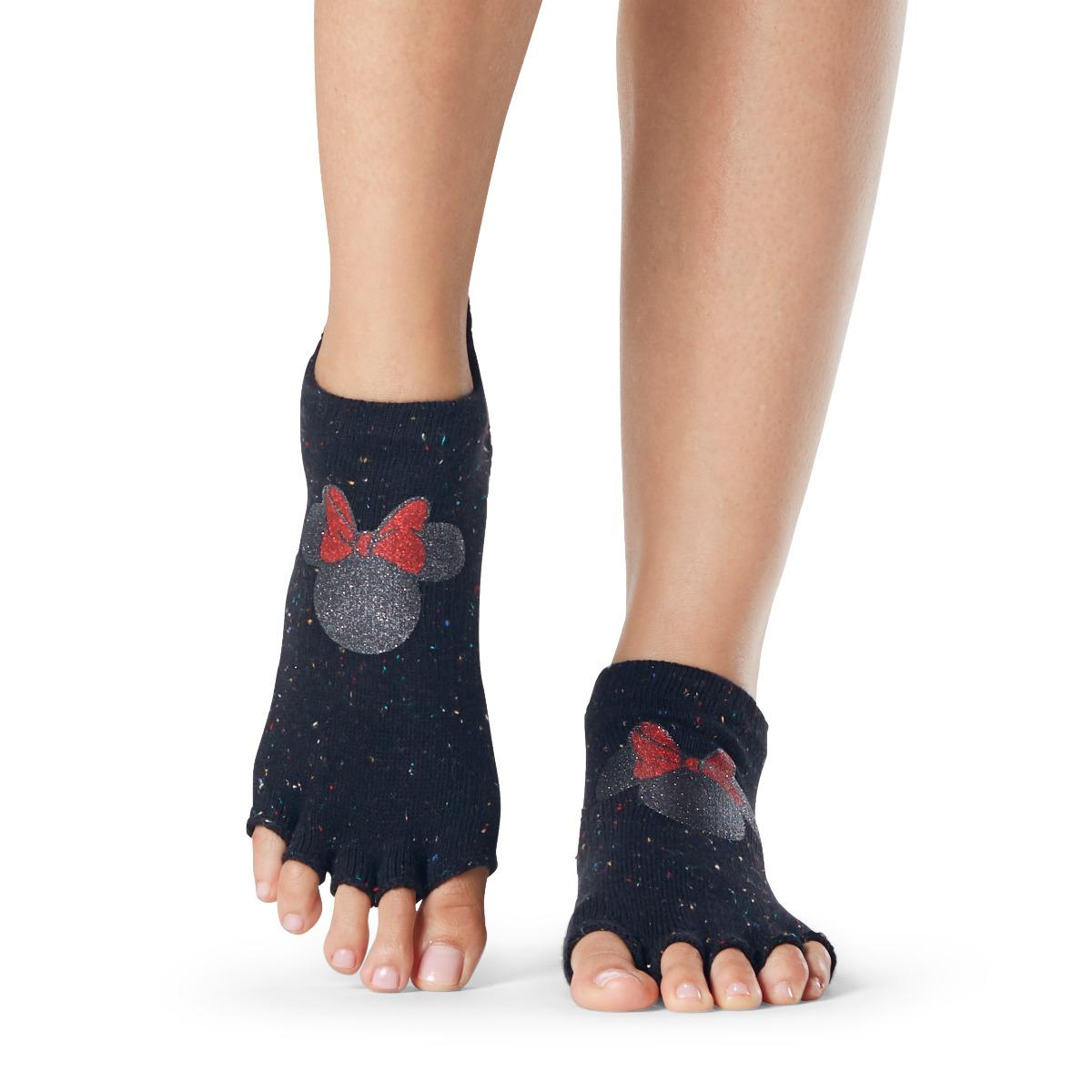 Yogasocken ToeSox Low Rise Half Toe Confetti Minnie - 1