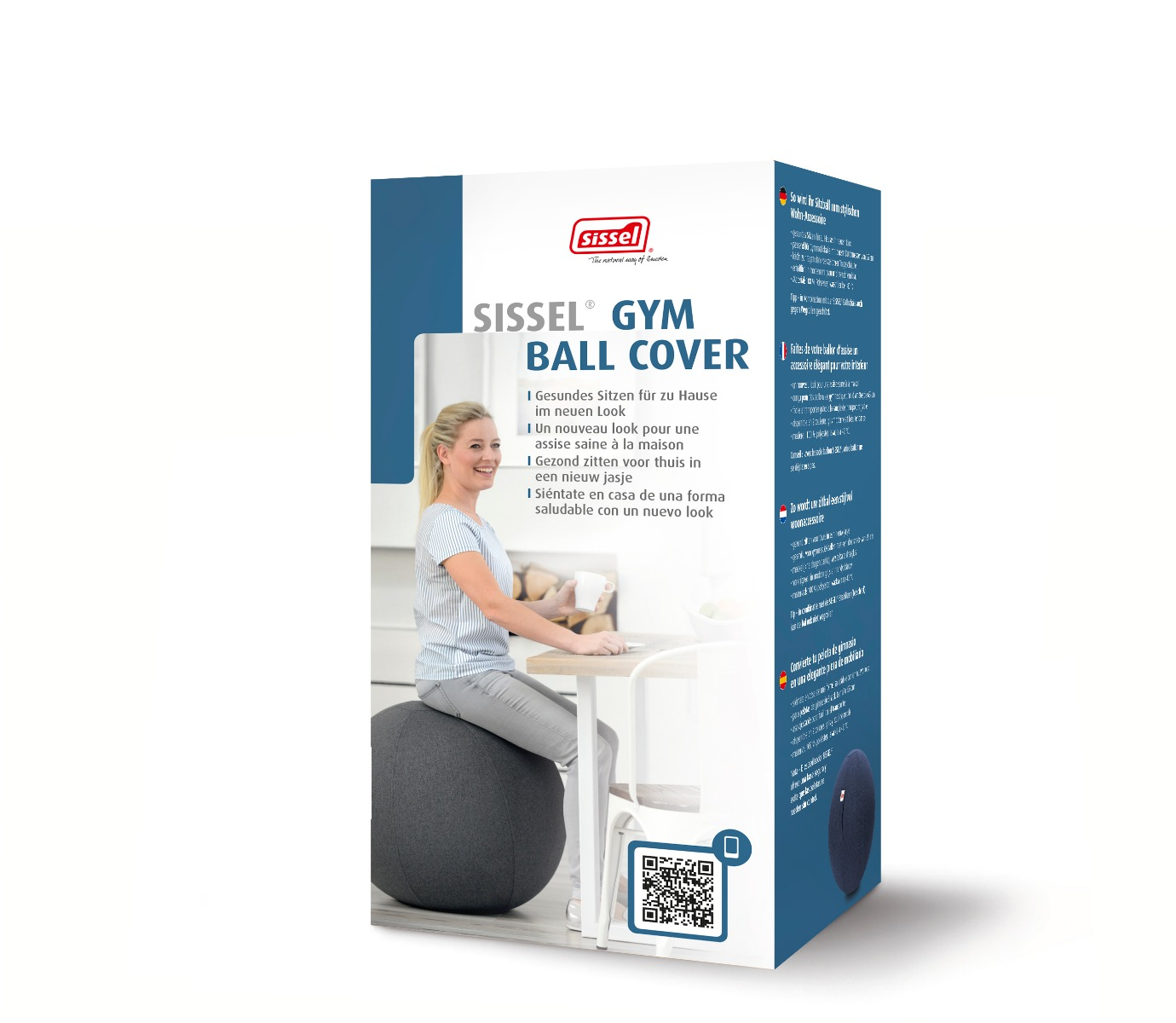 SISSEL® Sitzball Secure-Style Ø 65 cm - 3