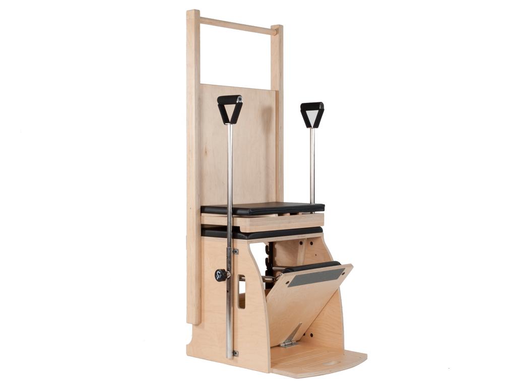 Pilates Wunda Chair - High Back and Handles