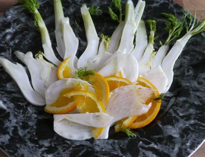 Fenchel Orangensalat