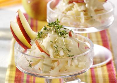 Apfel Kohlrabi Salat