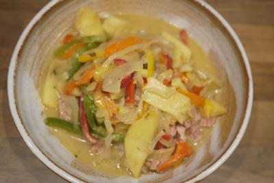 Thunfisch Curry