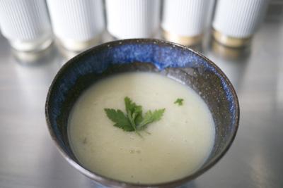 Kohlrabi Sellerie Fitness Suppe