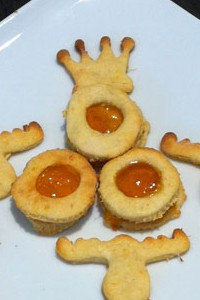 Orangen-Ingwer-Spitzbuben