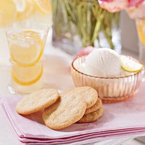 Lemon-Cornmeal Cookies