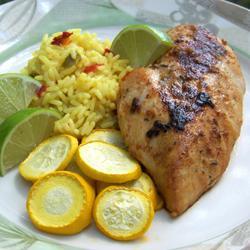 Spicy Lime Garlic Chicken