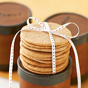 Spiced Vanilla Cookies