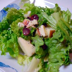Fruit Salad with Lemon Poppyseed Dressing