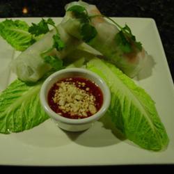 Thai Rolls with Hoisin-Peanut Sauce