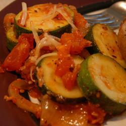 Tomato and Zucchini Melange