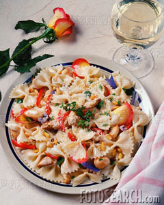 Bow Tie Pasta and Caramelized Onions