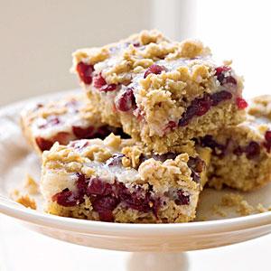 Cranberry-Oatmeal Bars