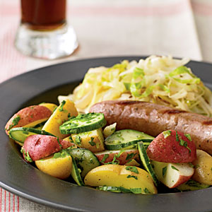 Bavarian Potato-Cucumber Salad