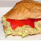 Garlic Pesto Tuna Salad Sandwich