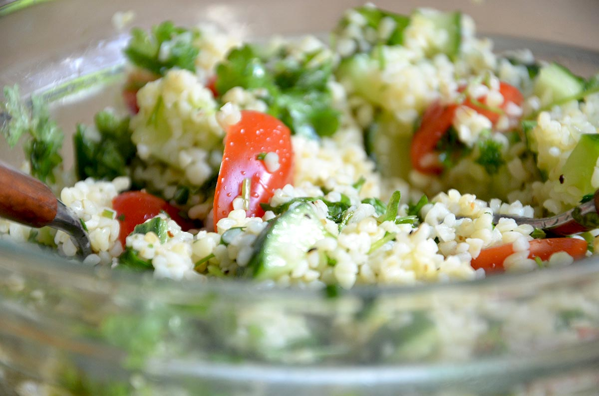 Orientalischer Taboulé Salat
