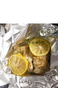 Lubina – Loup de Mer – en salsa curry con limón