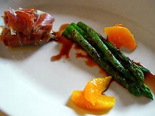 Orange Pecan Asparagus