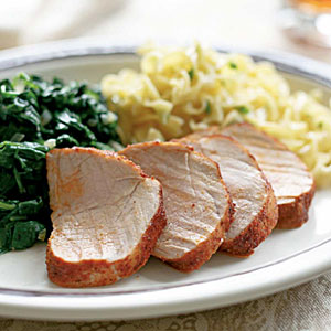 Pork Tenderloin with Paprika Spice Rub