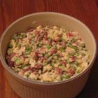 Green and Red Christmas Salad