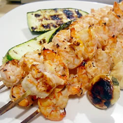 Spicy Lime Grilled Prawns