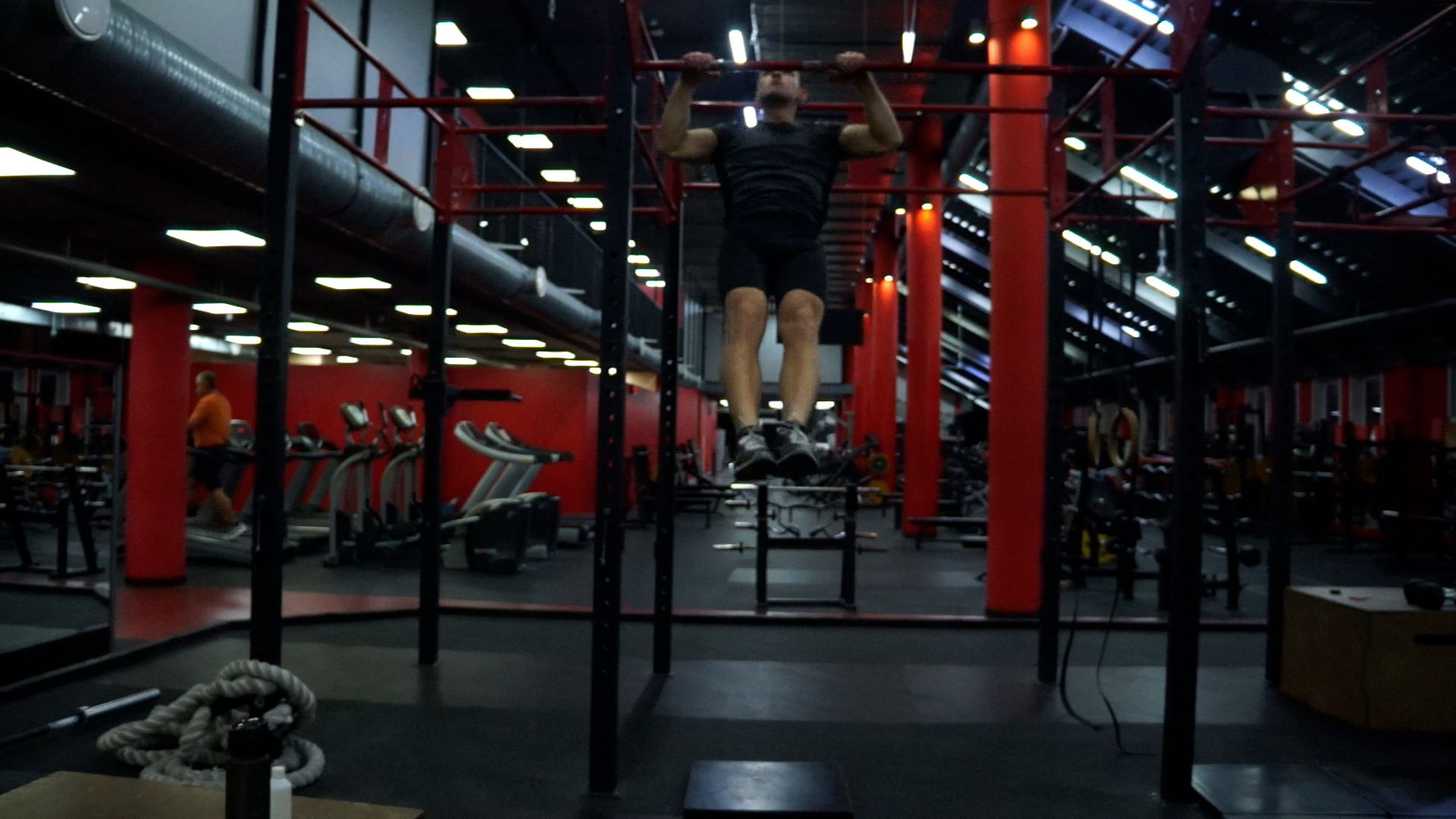 Chest To Bar Pull-Ups