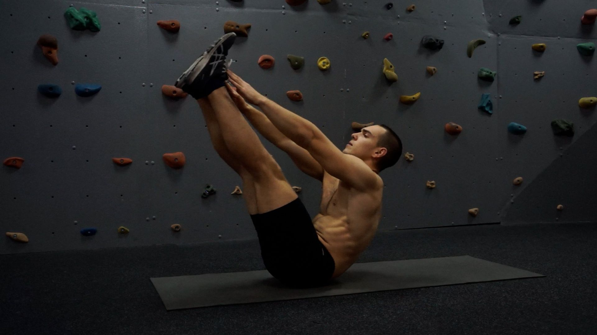 Toe-Touch Crunches