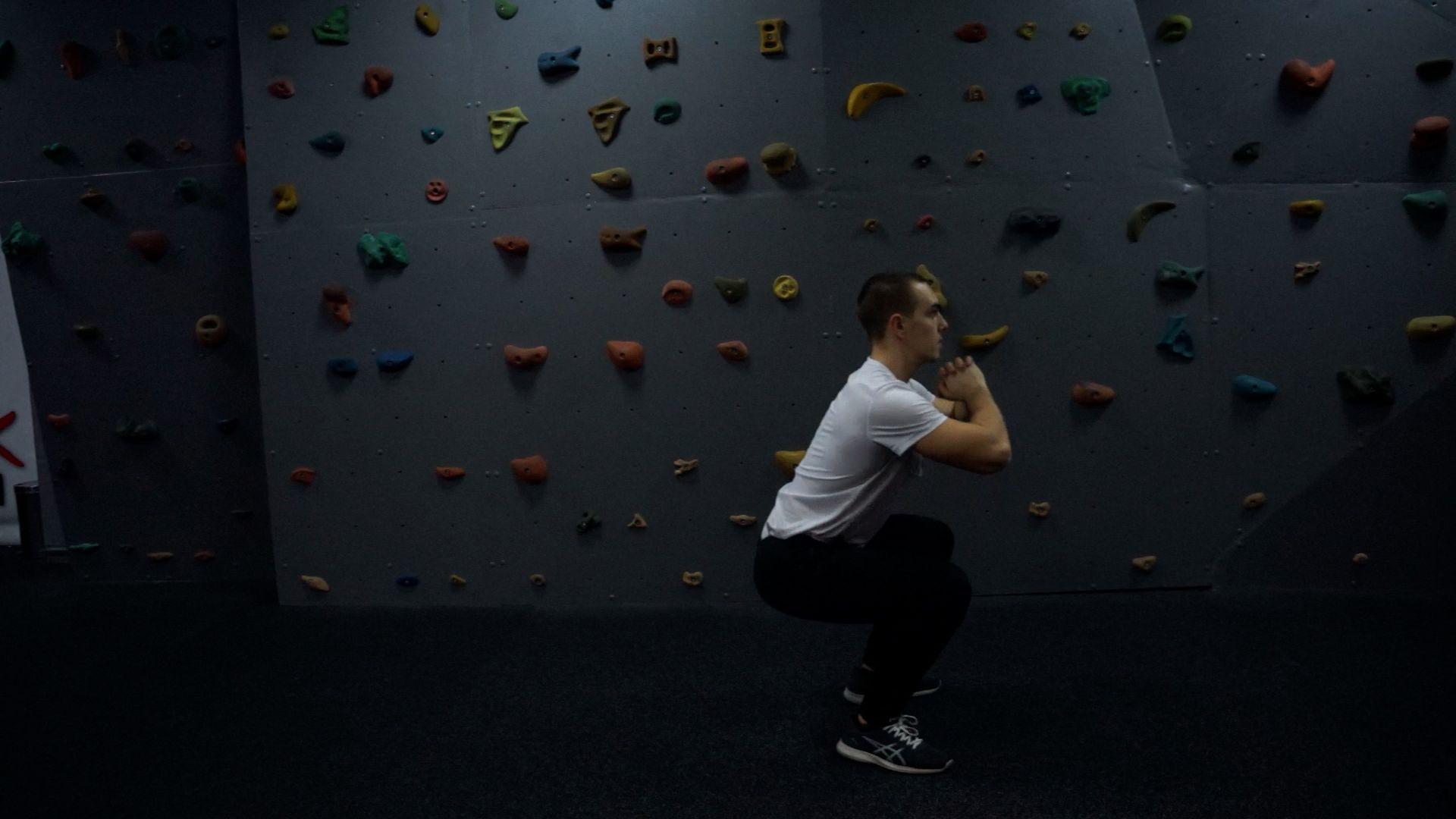 Forward and Backward Jump Squats