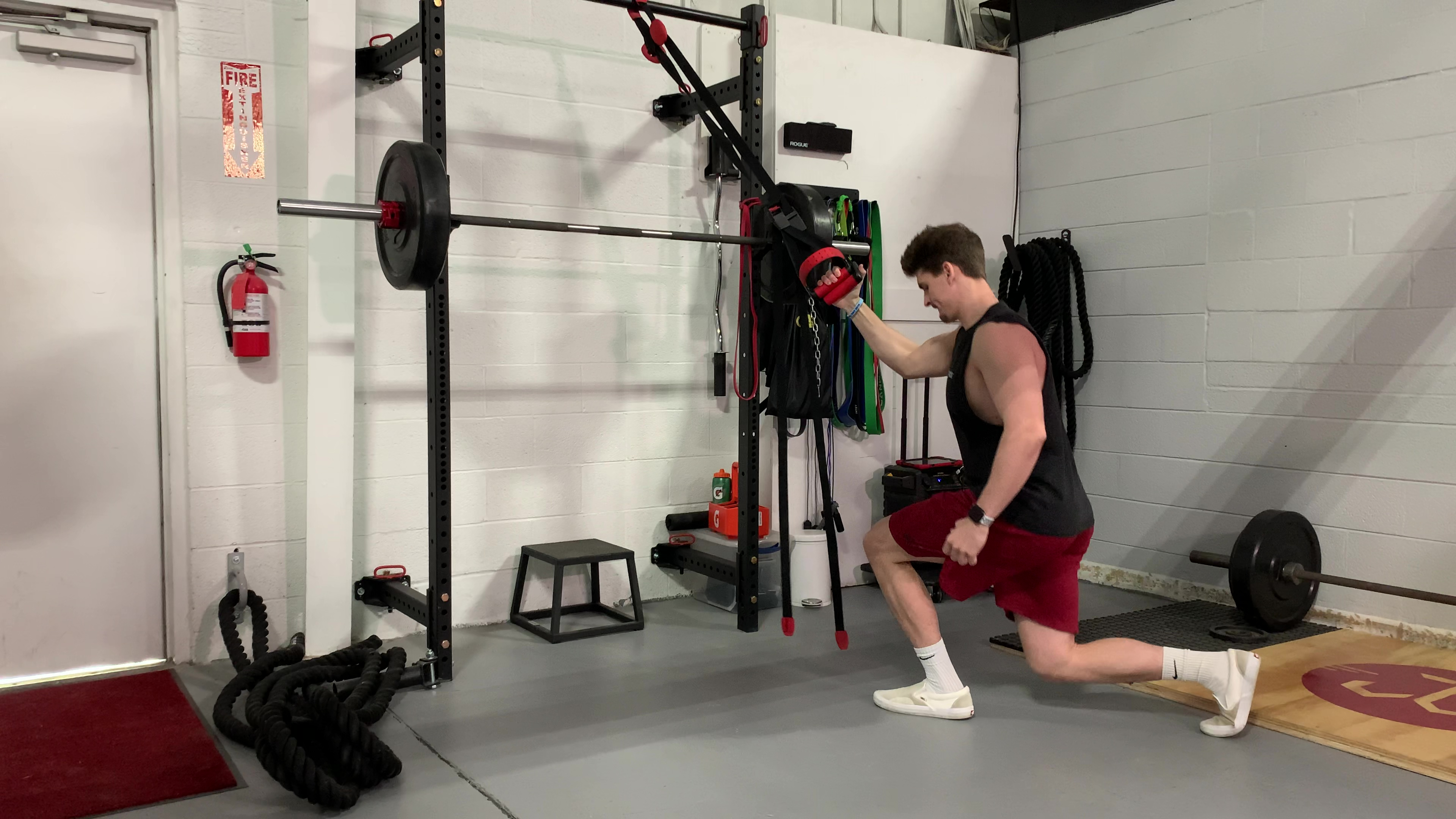 Assisted Reverse Lunge