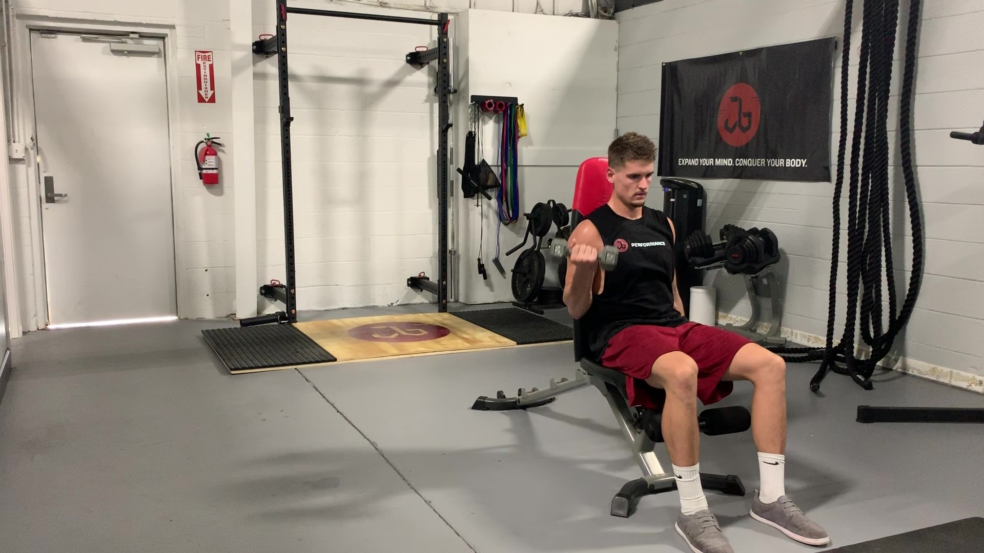 DB Seated Curl