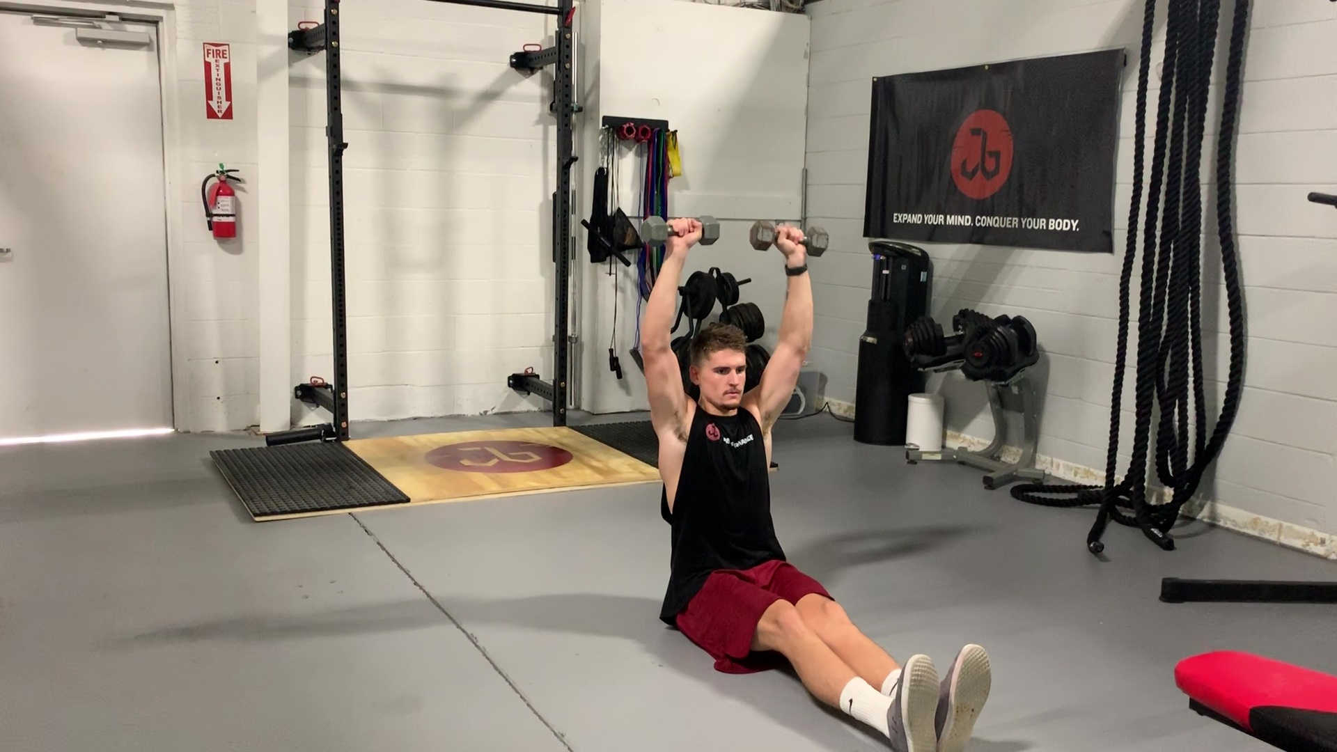 DB Seated Floor OH Press