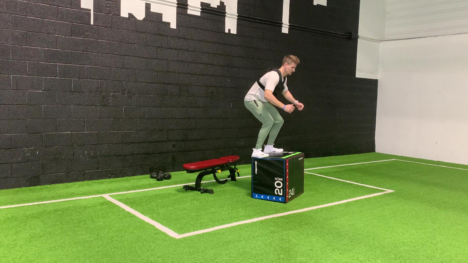 Depth Jump to Box Jump