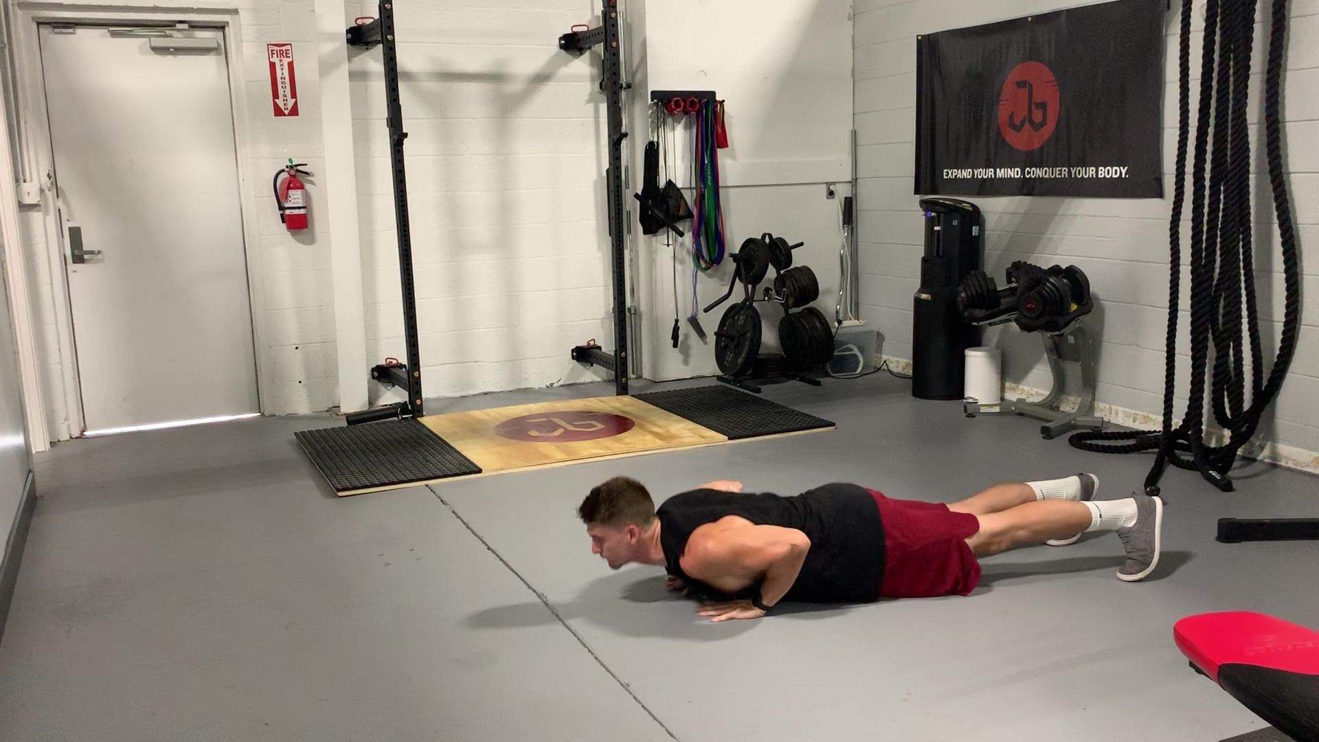 Plyometric In and Out Push-ups