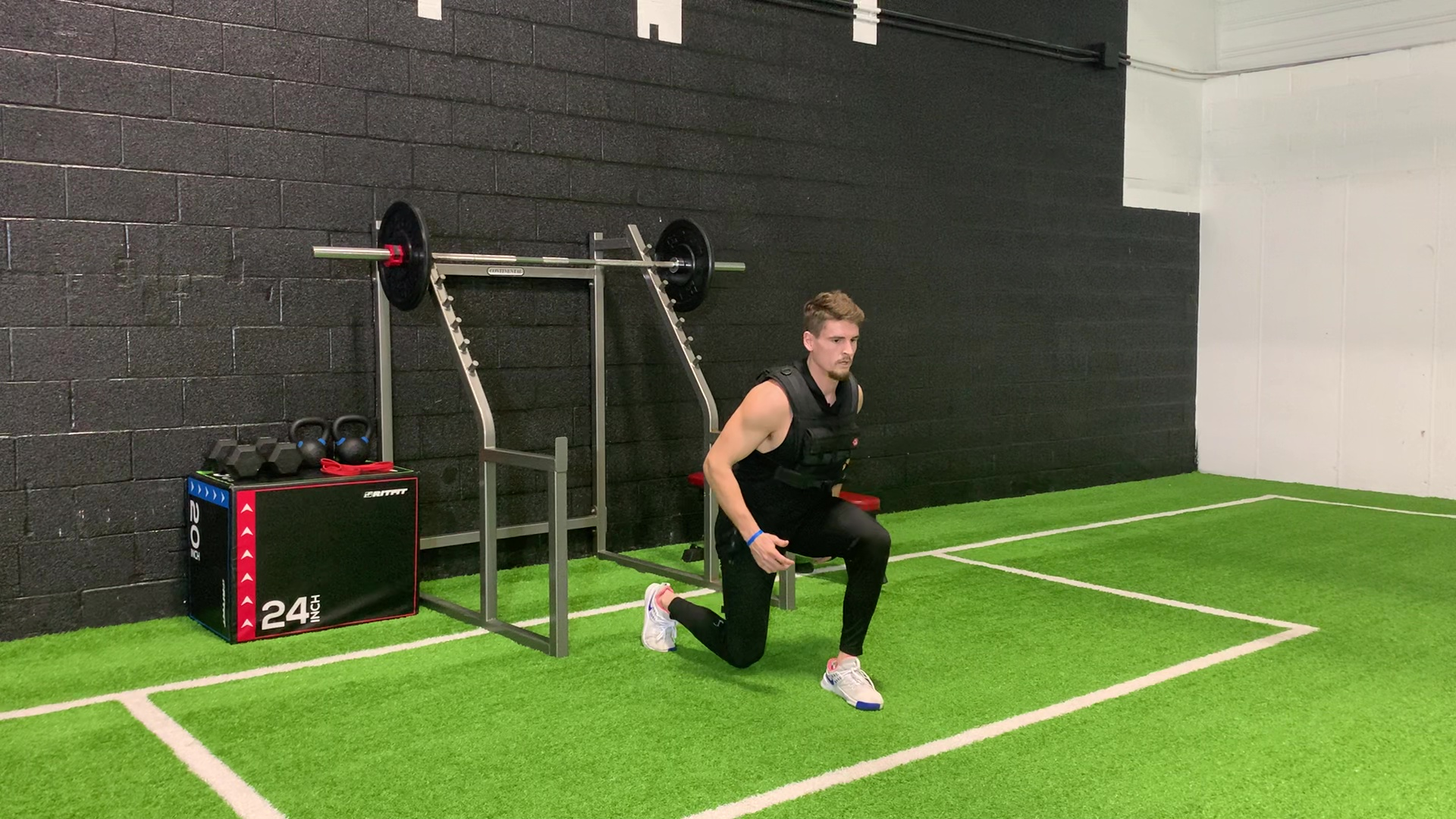 Reverse Lunge to Skip