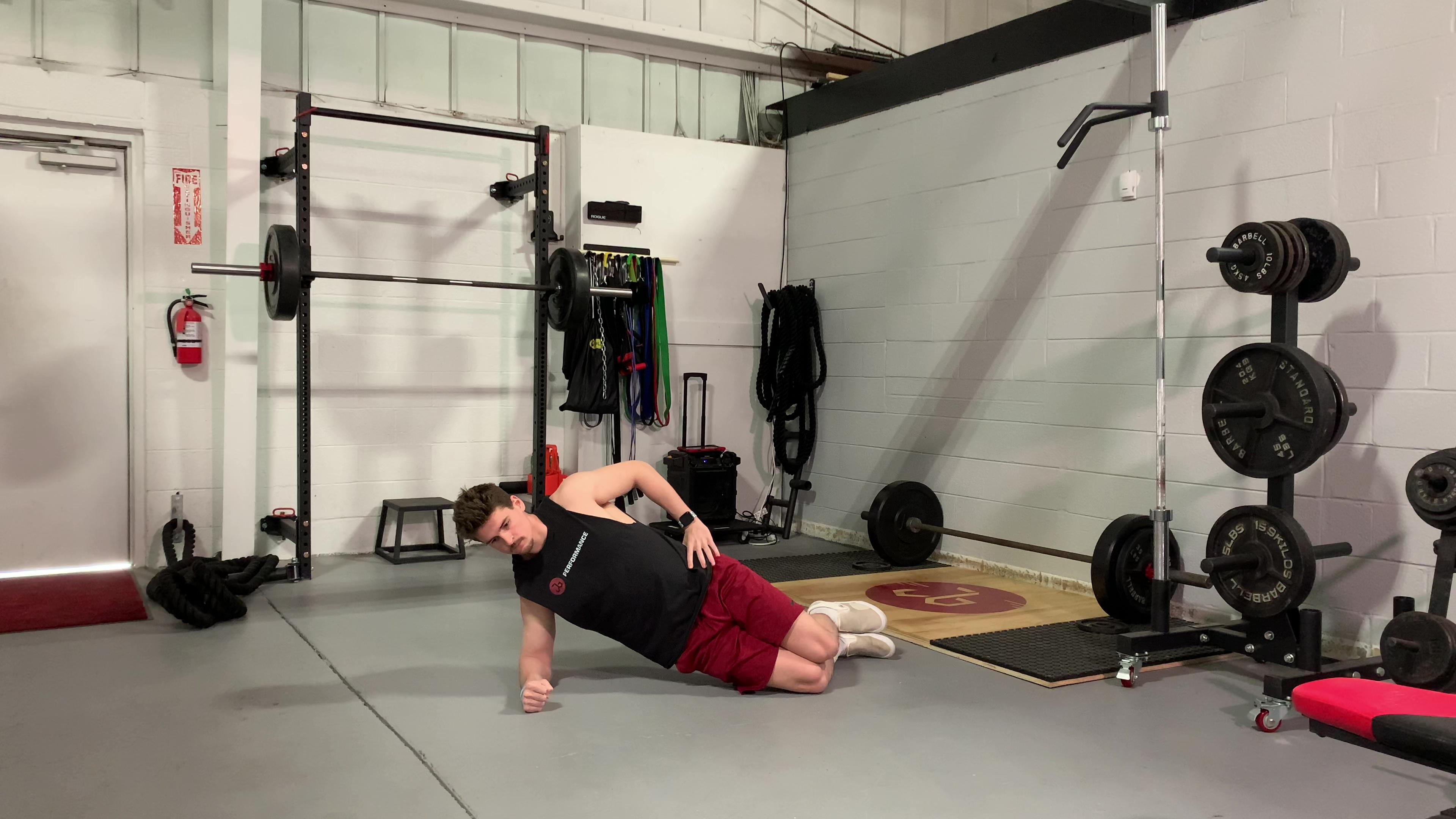 Short Lever Side Plank