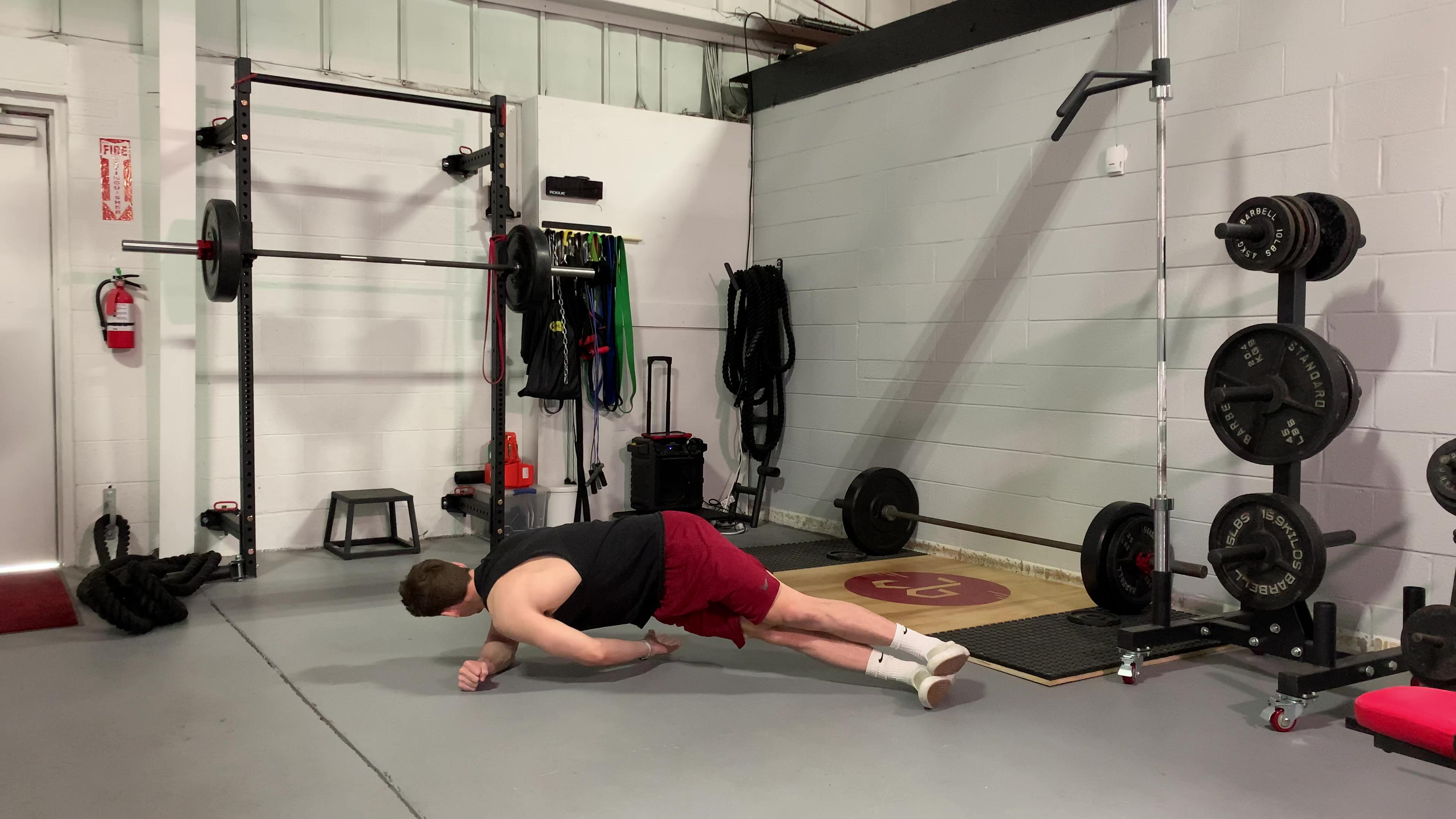 Side Plank w Rotation