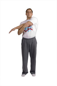 Trizeps Tennis Stretch