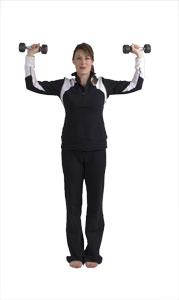 Rotation des épaules avec haltère court