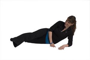 Elevación lateral de piernas