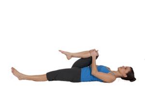 Übung Dehnung für die Gesäßmuskulatur und den Hüftbeuger im