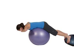 Übung zur  Kräftigung der Rückenmuskulatur