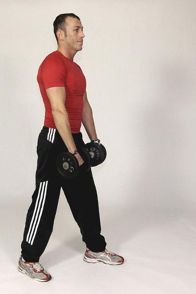 Single Arm Front Shoulder Raise